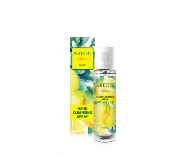 Spray pentru curatarea si hidratarea mainilor cu alcool 35 ml Citrus - Areon