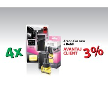 PROMO AREON 4 CAR + 4 REFILL AREON CAR